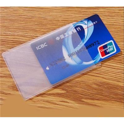 Combo 10 Túi Nhựa Trong Suốt Đựng Thẻ - Kt: (9 x 6) cm