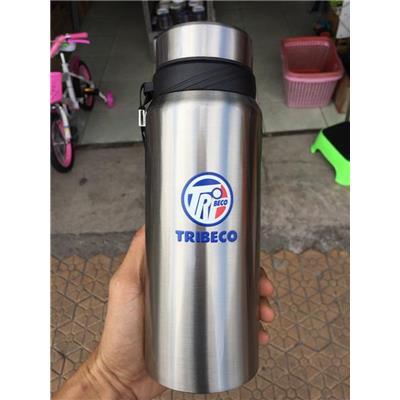 Bình Giữ Nhiệt Tribeco 800ml Có Dây Xách, Lưới Lọc Trà  Binh Giu Nhiet Tribeco 800ml Co Day Xach, Luoi Loc Tra
