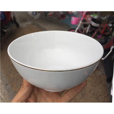 Tô Sứ Minh Long I Jasmine 15cm Chỉ Vàng - Kt: (15 x 7.5) cm