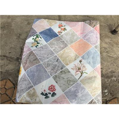 Decal Hoa Văn Dán Bếp Tráng Nhôm Cách Nhiệt - Kt: (3m x 0.6m)