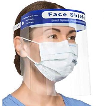 Mặt Nạ Che Mặt Face Shield - Kt: ( 32 x 22) cm
