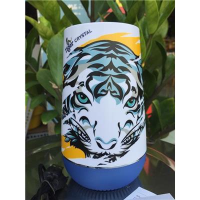 LOA Bluetooth Tiger Crystal Phiên Bản Giới Hạn Có Đài FM, Đèn Led - Kt: (13.5 x 6.5 x 8) cm