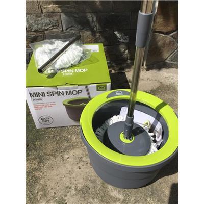 Bộ Lau Nhà Lock&Lock Mini Spin Mop ETM498 – Kèm 2 Bông Lau