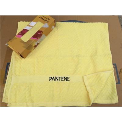 Khăn Tắm Pantene Màu VÀNG - Kt: (40 x 80) cm  Khan Tam Pantene Mau VANG - Kt: (40 x 80) cm