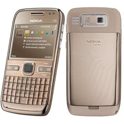 Nokia E72 Topaz Brown