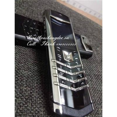 Vertu Signature S Silver Ceramic Fake