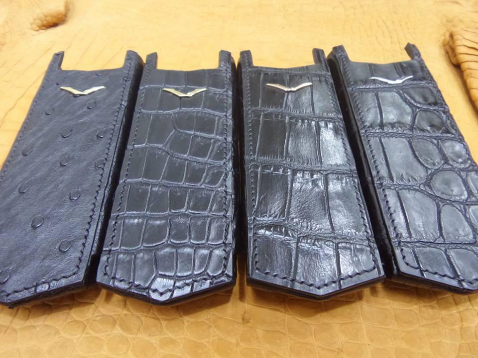 hcm bán dao da, bao da điện thoại vertu 8800 xịn giá rẻ