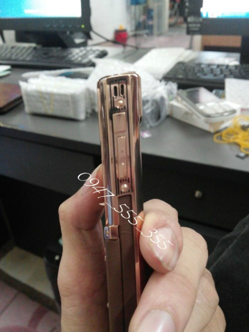 Vertu Signature S White_Rose Gold_Chocolate Gold Vertu Ti Cam Ung