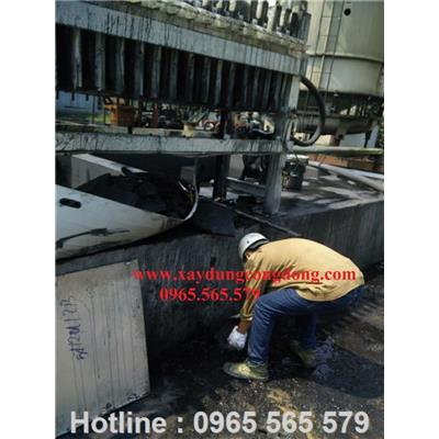 Sản xuất máy lọc ép bột đậu nành