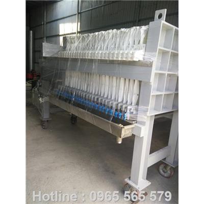 Sản xuất máy ép bùn khung bản tại Cần Thơ.