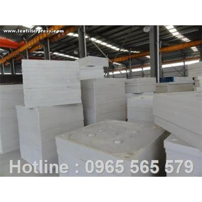 Sản xuất khung bản máy ép bùn tại Việt Nam