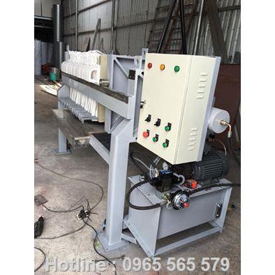 Máy ép bùn giá rẻ - filter press made in Viet Nam
