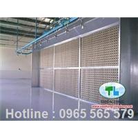 Hệ thống xử lý tháp sơn khô tại TP.HCM