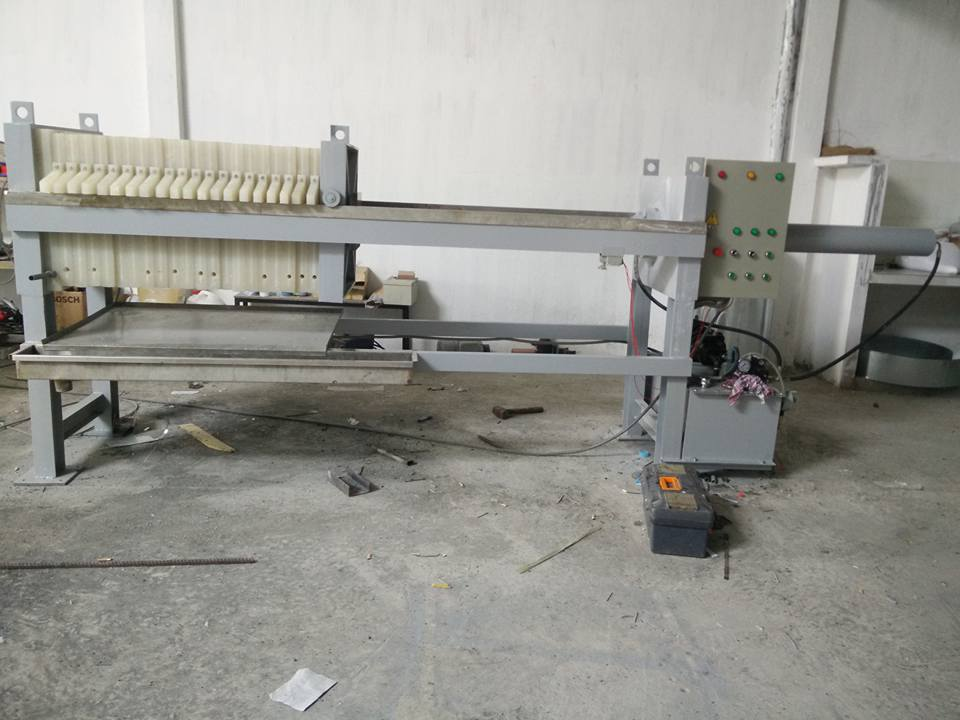Sản xuất máy xử lý bùn thải tại Bình Dương