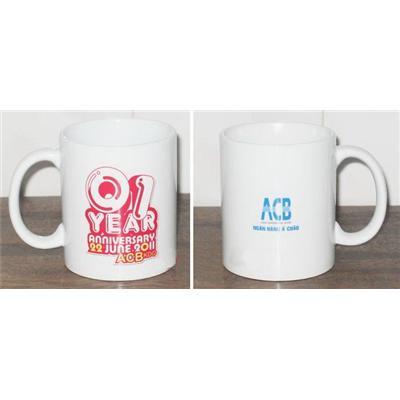 In ảnh lên cốc, in logo ly sứ trắng 4