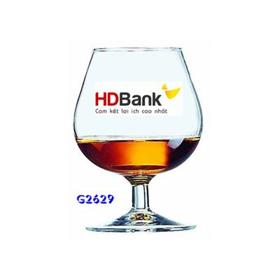 In ảnh lên cốc Luminarc-Cognac G2630 HDBANK