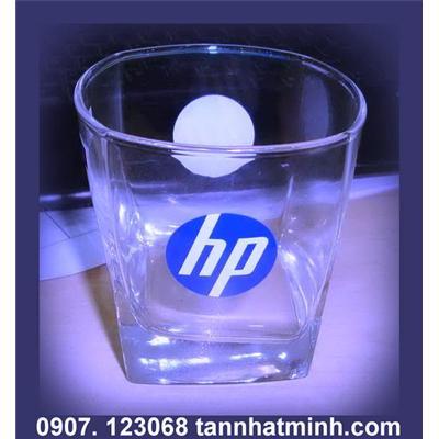 In ảnh lên cốc thủy tinh LUMINARC - Thương hiệu HP