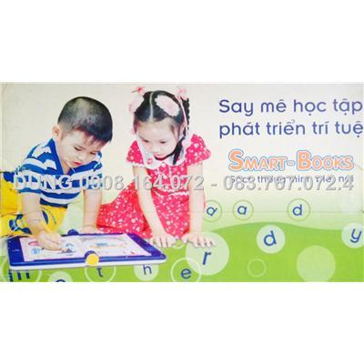 Km : tang them 1 bo sach + 1 card dien tu khi mua Sach dien tu thong minh biet noi 4 ngoai ngu smart book vn0