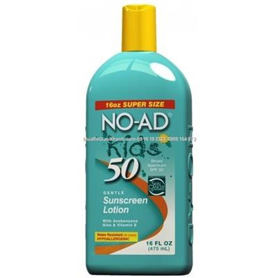 XT-Kem chống nắng No Ad Kid 50spf ( Made in USA) 475ml