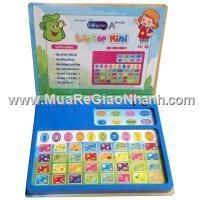 Laptop mini có các phím học chữ, số & tiếng Anh cho be