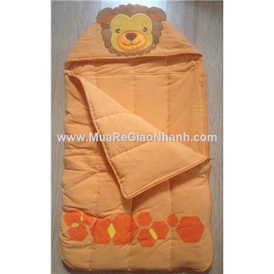 Túi ngủ vải Cara chần bông mỏng cho bé  Tui ngu vai Cara chan bong mong cho be