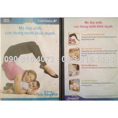 Bộ VCD Mẹ Đẹp Con Xinh 4 in 1 tổng hợp cho mẹ và bé