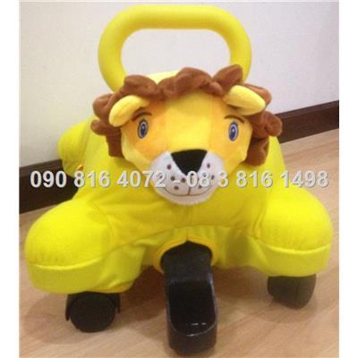 Sư tử -Xe chòi chân nhồi bông hình thú đa năng Enfa 3 in 1