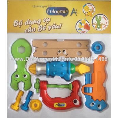 set B -Bộ dụng cụ kỹ sư cho bé yêu Enfa