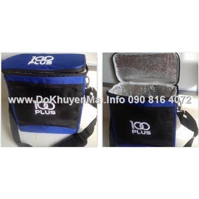 Túi giữ nhiệt cao cấp 100 Plus Size Lớn Dày có dây đeo