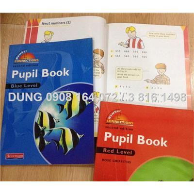 2 sách giúp bé làm quen với Toán & tiếng Anh tích hợp