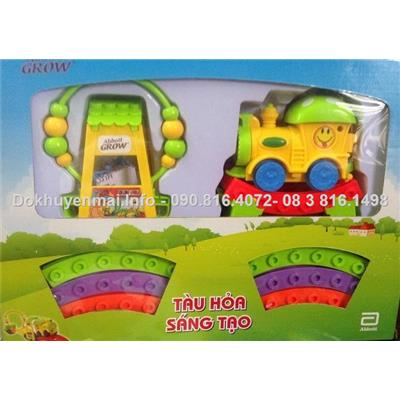 Bộ đồ chơi tàu hỏa sáng tạo-