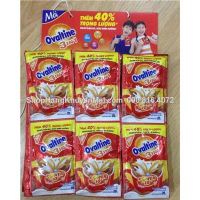 30 gói sữa Ovaltine lúa mạch vị socôla