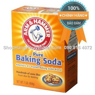 Bột Đa Dụng Pure Baking Soda Arm & Hammer 454g