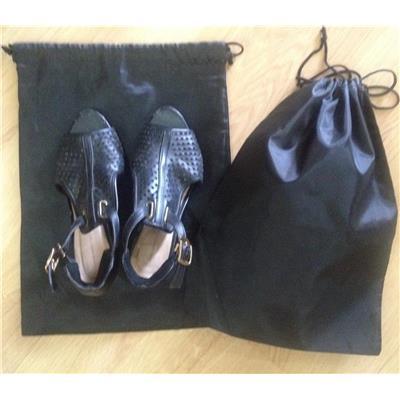 Combo 2 túi dù bảo quản giày dép có dây rút