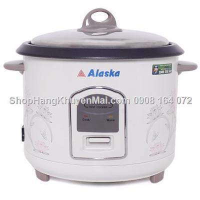 Nồi cơm điện thương hiệu Mỹ ALASKA 1.8 Lít  Noi com dien thuong hieu My ALASKA 1.8 Lit