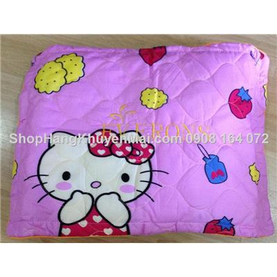 Kitty_ Set ga gối mền Cotton