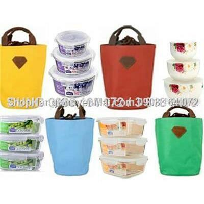 Túi giữ nhiệt sắc màu cao cấp Living Box