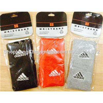 2 Băng đeo tay thể thao lau mồ hôi Adidas