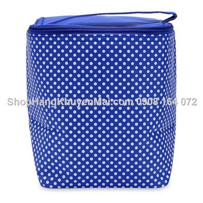 Túi giữ nhiệt đa năng họa tiết chấm bi
