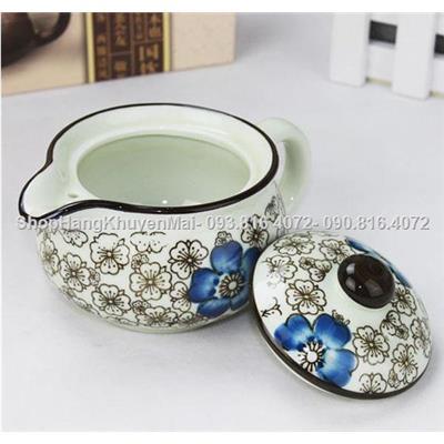 Ấm trà sứ xinh xắn xuất Nhật