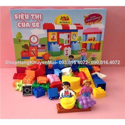 Bộ lego lắp ráp siêu thị Abbott