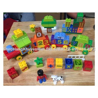 Lego lắp ráp đoàn tàu ô số