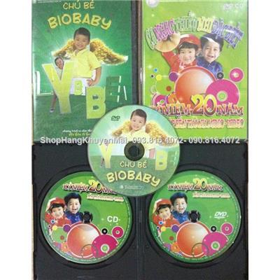 Tuyển tập 2 DVD và 1CD các bài hát thiếu nhi đặc biệt  Tuyen tap 2 DVD va 1CD cac bai hat thieu nhi dac biet