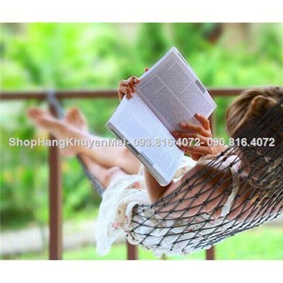 Võng lưới dệt đan xen cao cấp 2 lớp - Hàng Việt Nam