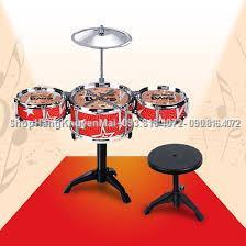 Bộ dàn trống Jazz Drum cho bé  Bo dan trong Jazz Drum cho be