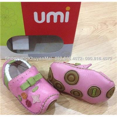 Giày da Umi chống trượt cho bé yêu