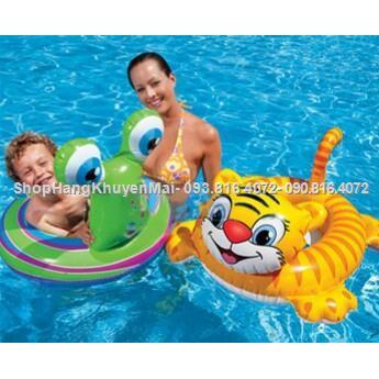 Phao bơi xỏ chân hình thú Intex