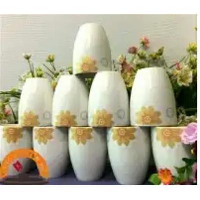 Bộ 10 ly sứ nhũ ánh vàng cao cấp DongHwa