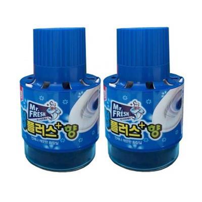 Combo 2 Chai thả bồn cầu tự động làm sạch diệt khuẩn và làm thơm Mr.Fresh  Combo 2 Chai tha bon cau tu dong lam sach diet khuan va lam thom Mr.Fresh