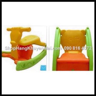 Bập bênh ngộ nghĩnh và ghế ngồi tiện dụng 2 in 1